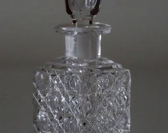 Antique Crystal Perfume Bottle