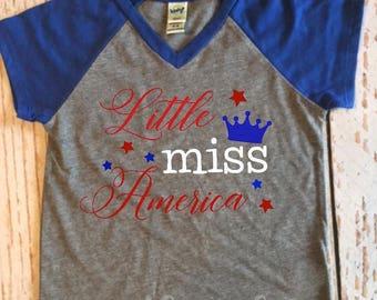 Little Miss America T-shirt