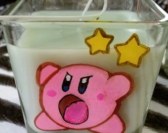 Small Kirby Candle