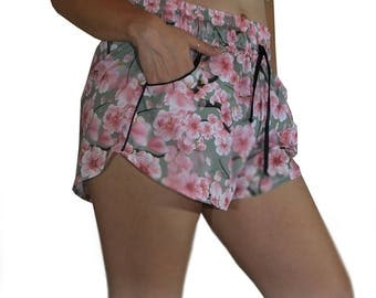 Sally shorts floral