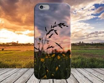 Field Sunset Phone Case