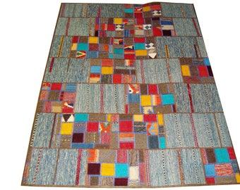 Persian Patchwork Kilim Rug PRH119, 146x203