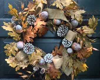Oak Leaf & Acorn Wreath