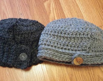 Crochet Low Ponytail Hats