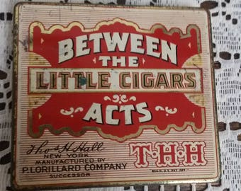 Between The Acts Little Cigars Tin