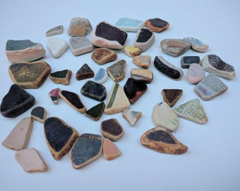 Jewelry makers! Sea pottery pieces