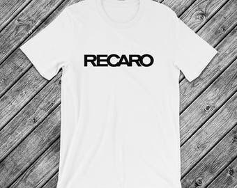 Recaro Seats Logo t-Shirt - JDM, Euro, Stance, Racing, Car, Seat, Bride, Sparco, Status