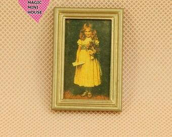Dolls House Miniature Painting