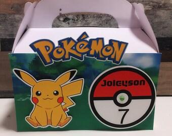 Pokemon pikachu gable boxes