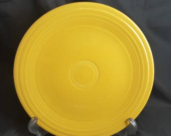 Vintage Fiesta Yellow Luncheon Plate