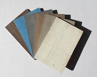 WoodyWalls. Set of Six Samples. Wood Wall Paneling