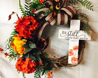 Inspirational wreath