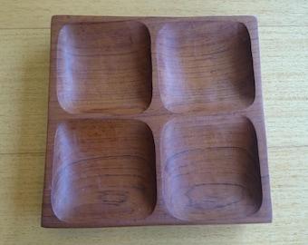 Vintage teak tray
