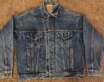 Vintage Levi Trucker denim jacket, 1980s