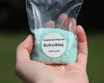 Refreshing Bath Soak. 2 oz.