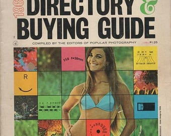 Summer Sale Popular Photography Directory & Buying Guide 1968 Magazine