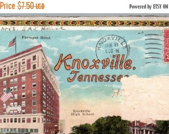 S Knoxville, Tennessee fold out pictures in a envelope