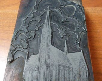 Church Ink Stamp Block