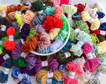 Yarn Samples - 70 Hobby Lobby I Love This Yarn Solids - 100% Acrylic - ALL Colors - 15 feet Each - FREE SHIPPING