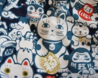 lucky cat japanese luckycat furoshiki maneki neko