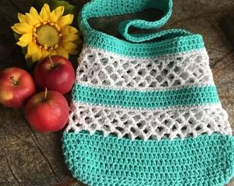 Market Bag, Farmer's Market Bag, Beach Bag, Crochet Market Bag, Crochet Tote, Crochet Grocery Bag, Farmer's Market Tote, Crochet Tote Bag