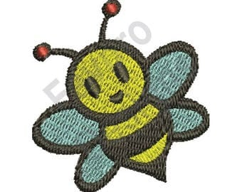 Little Bee - Machine Embroidery Design