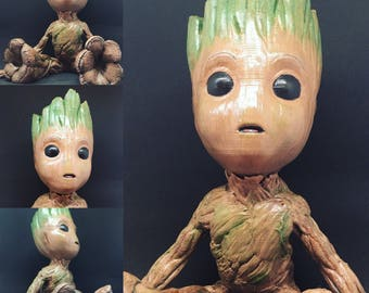 Baby Groot full size!
