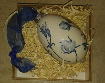 Decorated Goose Egg