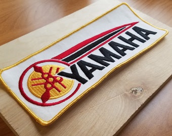 Yamaha 1970s Vintage Motorcycle Patch