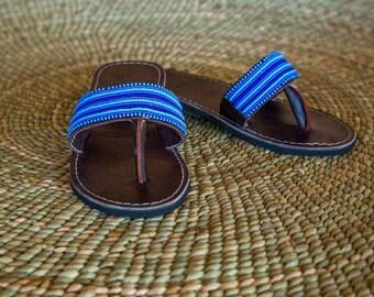Blu Maasai sandals