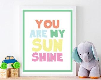 Digital Art, Print, Nursery Art, Baby Shower, Children Art