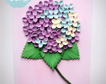 Miniwings  Paper Art Quilling Wall Art / Modern Home Decoration / 3D Unique Wall Art / Wall Decor/ Quilling Artwork