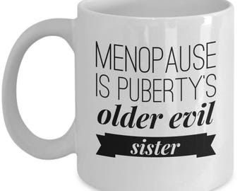 Funny Menopause Hot Flash Gifts, Fun Coffee Mug Birthday Gag Gift for Women