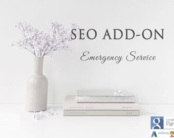 Full Website Search Engine Optimization Emergency Add-On, Get Your SEO Done Fast, Custom SEO Optimization