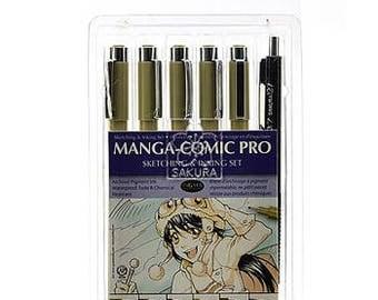 Sakura Manga - Comic Sketching and Inking Set