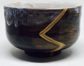 Ceramic Fruit Bowl, Black Bowl, Salad Bowl, Stoneware Bowl, Handmade Bowl, Housewarming Gift, Wedding Gift