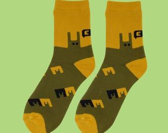 E socks FREE SHIPPING winter socks women's donut socks one size crew socks casual socks