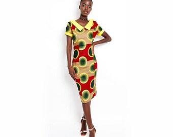Chimamanda Midi Pencil Dress