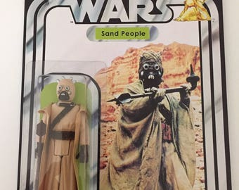 1977 Vintage C9.8 Grade Tusken Raider Sand People Star Wars 12 Back