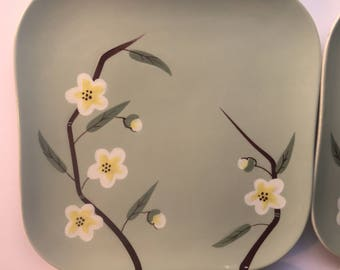 "Weil Ware Blossom 4 - 8"" Plates"