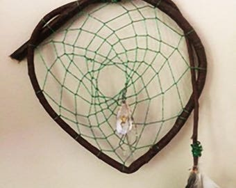 Greenheart   rustic dreamcatcher