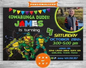 TMNT ninja turtle Birthday, TMNT Ninja Turtle Birthday invitation, TMNT Ninja Turtle, tmnt Ninja Turtle invitation, Ninja Turtle party