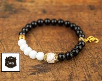 Mens Om bracelet, Men Mala bracelet, Men Buddha Bracelet, Zen bracelet, Men Om Bracelet, Men Yoga Bracelet, Chakra bracelet, Energy Bracelet