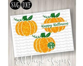Pumpkin svg, pumpkin monogram svg, fall svg, halloween svg, monogram frame svg, fall monogram svg frame, silhouette came svg, cricut files