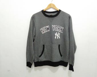 New York sweatshirt jumper crewneck sz L Major league baseball New York NY