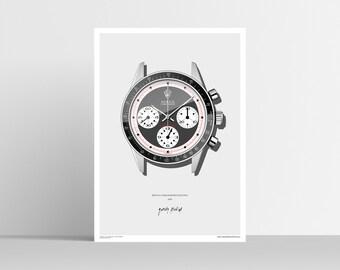 Rolex Daytona 6241 Poster (A2)