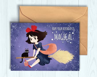Kiki's Delivery Service Birthday Card