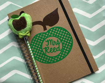 Personalised teacher notebook, A5/A6
