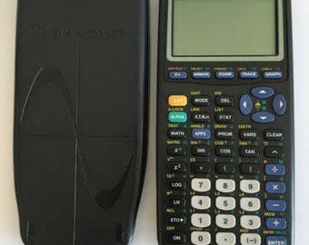 Texas Instruments TI-83 Plus Graphing Calculator With Cover and Batteries