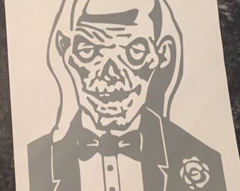 Crypt Keeper Tales from the Crypt Vinyl Decal